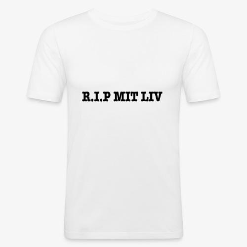R.I.P MIT LIV T-S - Herre Slim Fit T-Shirt