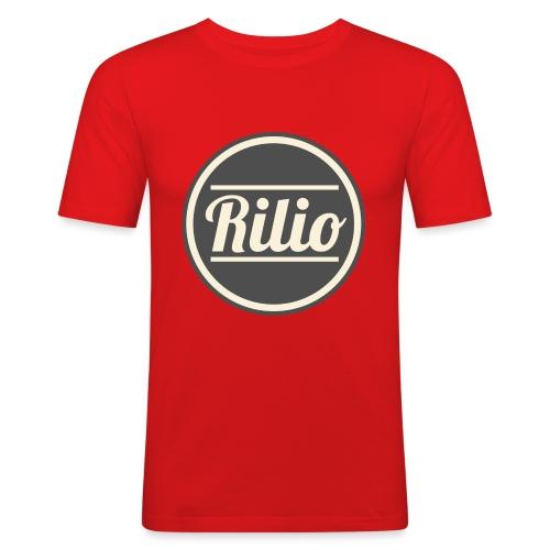 RILIO - Maglietta aderente da uomo