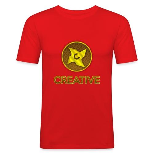 Creative logo shirt - Herre Slim Fit T-Shirt