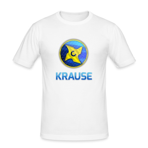 Krause shirt - Herre Slim Fit T-Shirt