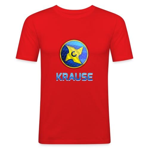 Krause shirt - Herre Slim Fit T-Shirt