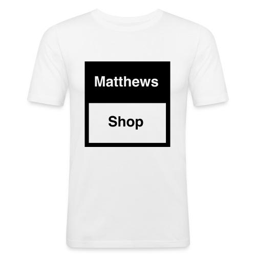 Matthews Shop T-shirt - Mannen slim fit T-shirt