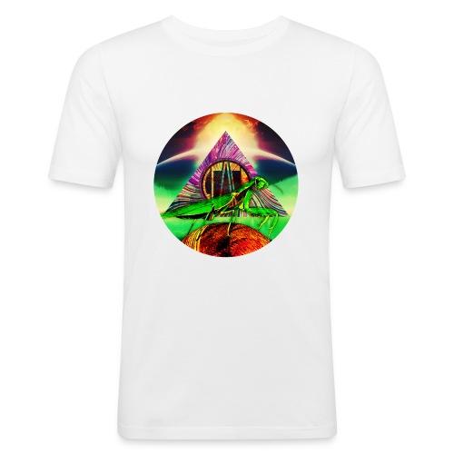 Leafy Disc - Slim Fit T-skjorte for menn