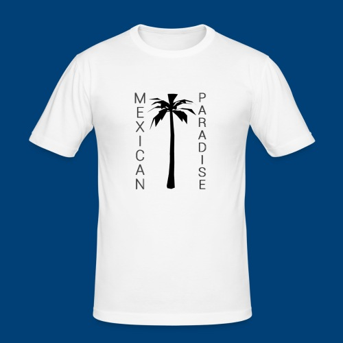 Mexican Paradise - Palms - 2016 - Herre Slim Fit T-Shirt