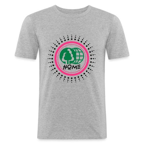 Planète home sweet home - Men's Slim Fit T-Shirt