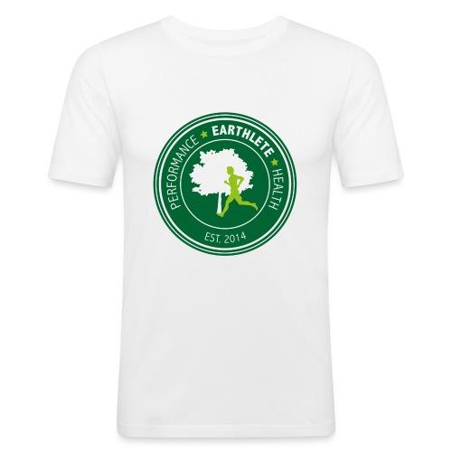 EARTHLETE Brand Logo - Herre Slim Fit T-Shirt
