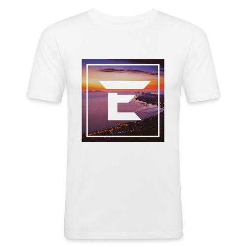 EMPRiiX Pullover White - Männer Slim Fit T-Shirt
