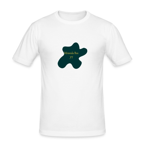 Miranda Bos_YT Merchandise - Mannen slim fit T-shirt
