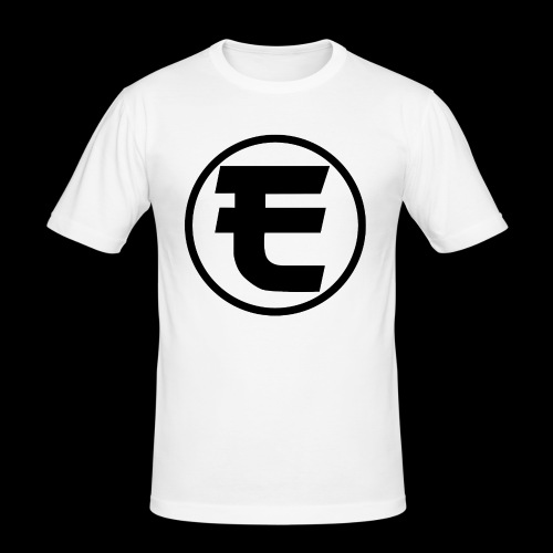 Evanus T-Shirt Wit - Mannen slim fit T-shirt