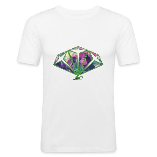 diamond - Maglietta aderente da uomo