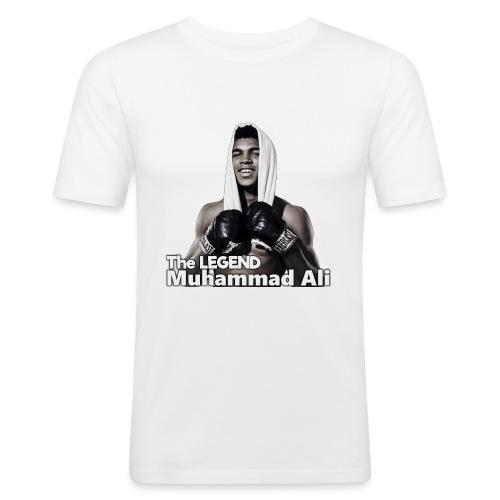 Muhammad_ali - Mannen slim fit T-shirt