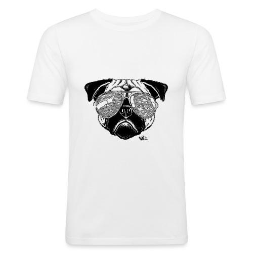 Lex à Lunettes - T-shirt près du corps Homme