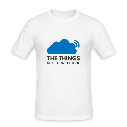 The Things Network - Mannen slim fit T-shirt