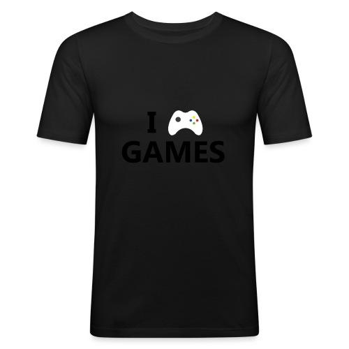 I Love Games - Camiseta ajustada hombre
