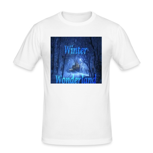 Winter Wonderland - Slim Fit T-skjorte for menn