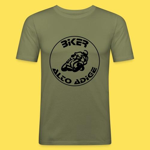 BikerAltoAdige circle logo Jacket - Maglietta aderente da uomo