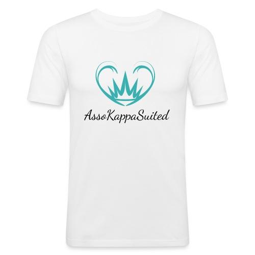 AssoKappaSuited - Maglietta aderente da uomo