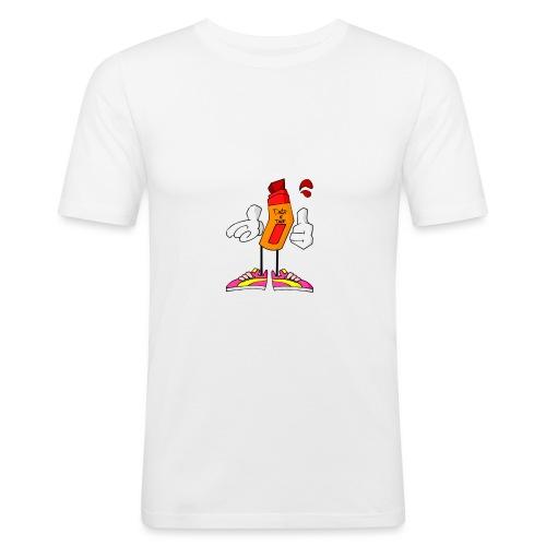 Drip N Drop - Maglietta aderente da uomo