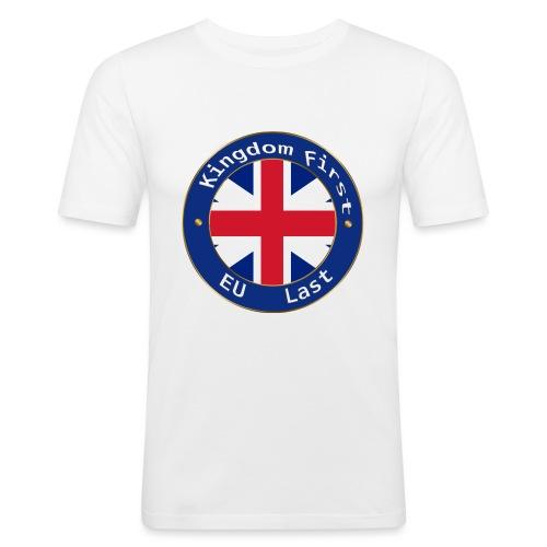 Kingdom First - Men's Slim Fit T-Shirt