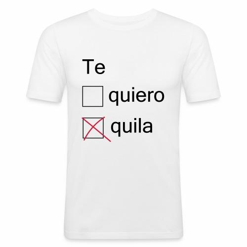 tequila - T-shirt près du corps Homme