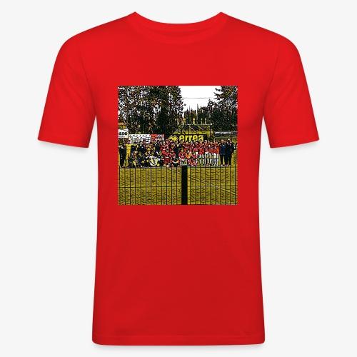 Footbal Match Squadre Calcio - Maglietta aderente da uomo