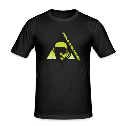 PACKO LOGO 2017 RGB PNG - Men's Slim Fit T-Shirt