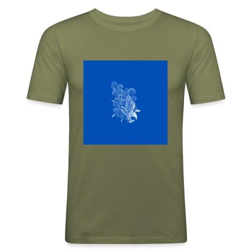 Windy Wings Blue - Men's Slim Fit T-Shirt