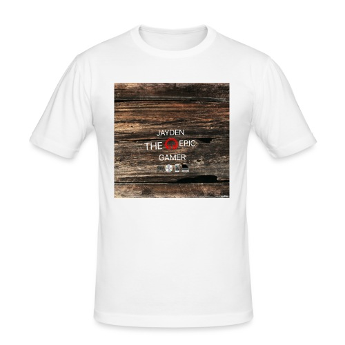 Jays cap - Men's Slim Fit T-Shirt