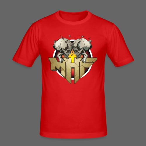 new mhf logo - Men's Slim Fit T-Shirt