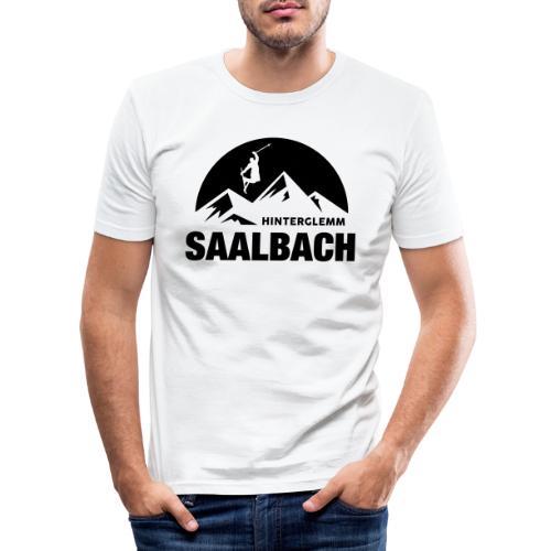Summit Saalbach - Mannen slim fit T-shirt