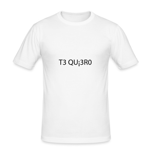 Te Quiero - T-shirt près du corps Homme