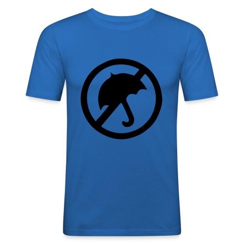 rainmakerlogo - Miesten tyköistuva t-paita