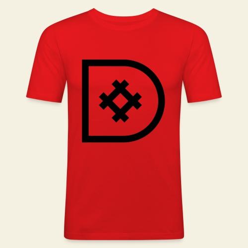 Icona de #ildazioètratto - Maglietta aderente da uomo