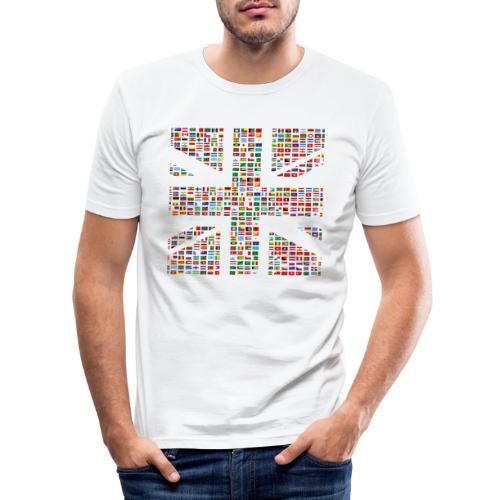 The Union Hack - Men's Slim Fit T-Shirt