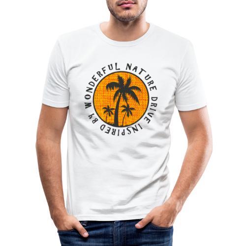 Wonder Nature - Men's Slim Fit T-Shirt