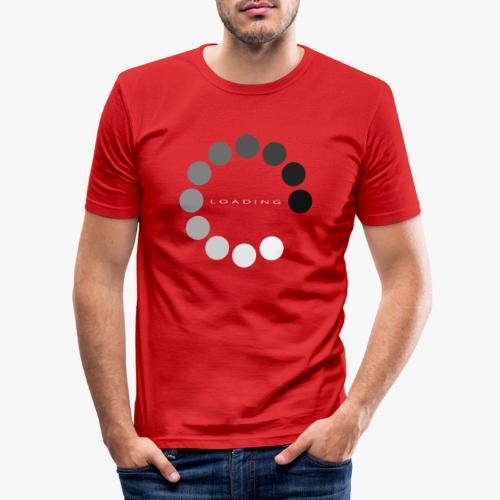 loading 1 - Obcisła koszulka męska