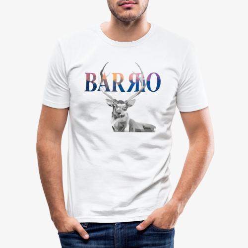Barrio Deer - Männer Slim Fit T-Shirt