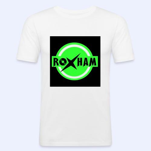 RoxHam-Button-2019 - Männer Slim Fit T-Shirt