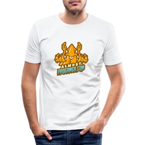 gaming logo maker featuring a squid monster 1847f - Maglietta aderente da uomo
