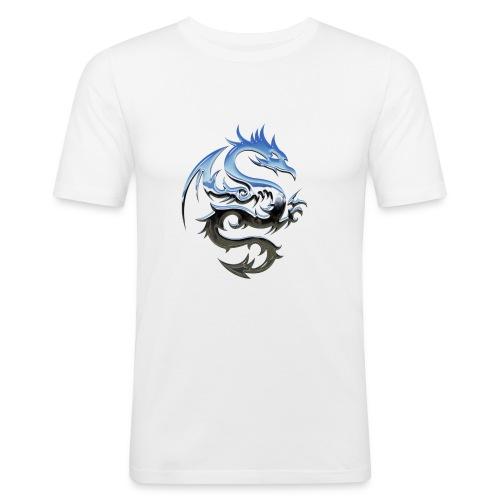 Dragon Metal - T-shirt près du corps Homme
