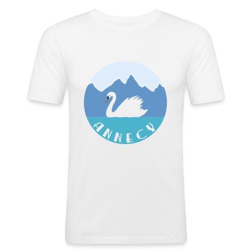 annecyviolet - T-shirt près du corps Homme
