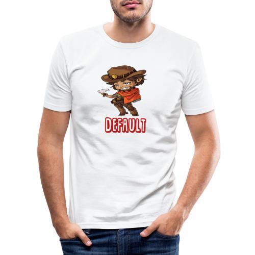 DeF Clan logo - Slim Fit T-skjorte for menn