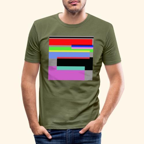 Artistico27 - Maglietta aderente da uomo