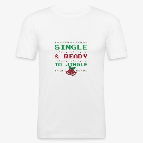 Single Ready To Jingle - Men's Slim Fit T-Shirt