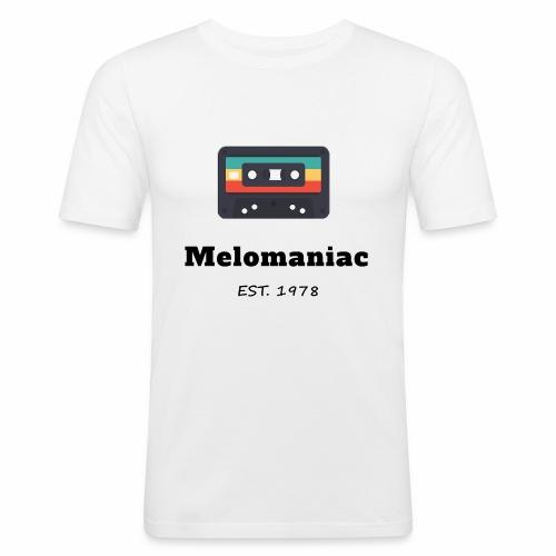 Melomaniac Vintage - Männer Slim Fit T-Shirt