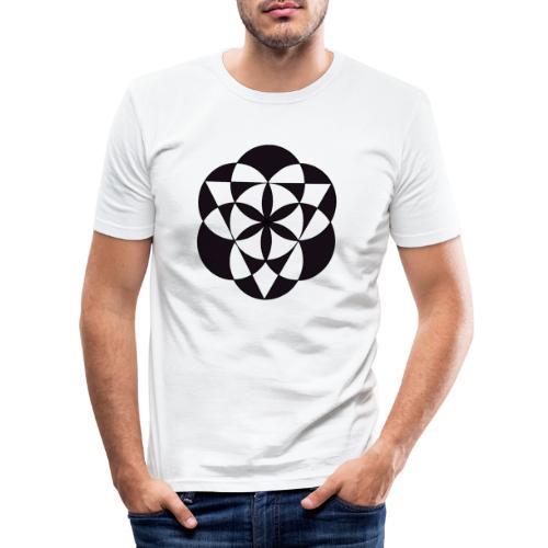diseño de figuras geométricas - Camiseta ajustada hombre