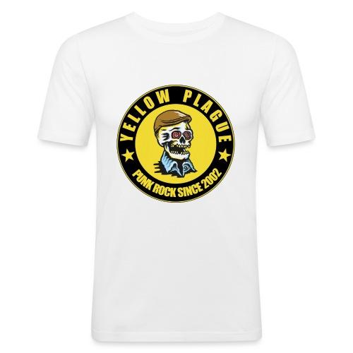 New logo - Miesten tyköistuva t-paita