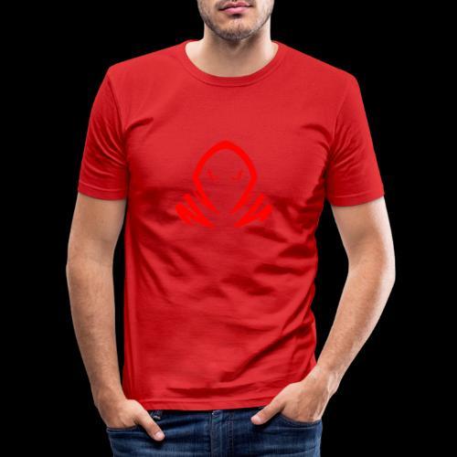 New Official TagX Logo - Miesten tyköistuva t-paita