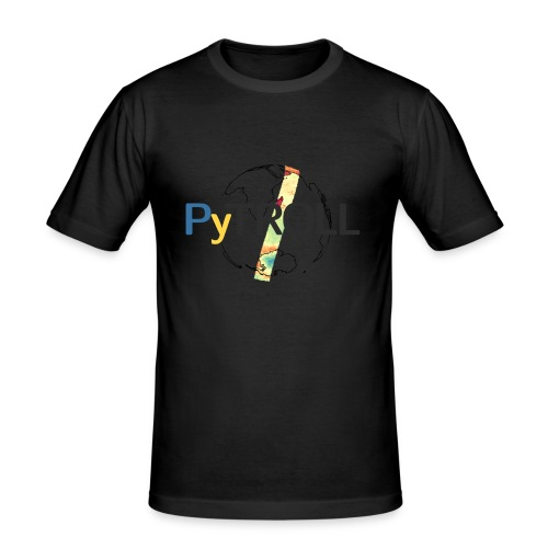 light logo spectral - Men's Slim Fit T-Shirt