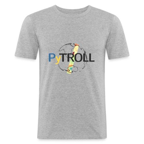 light logo spectral - Men's Slim Fit T-Shirt